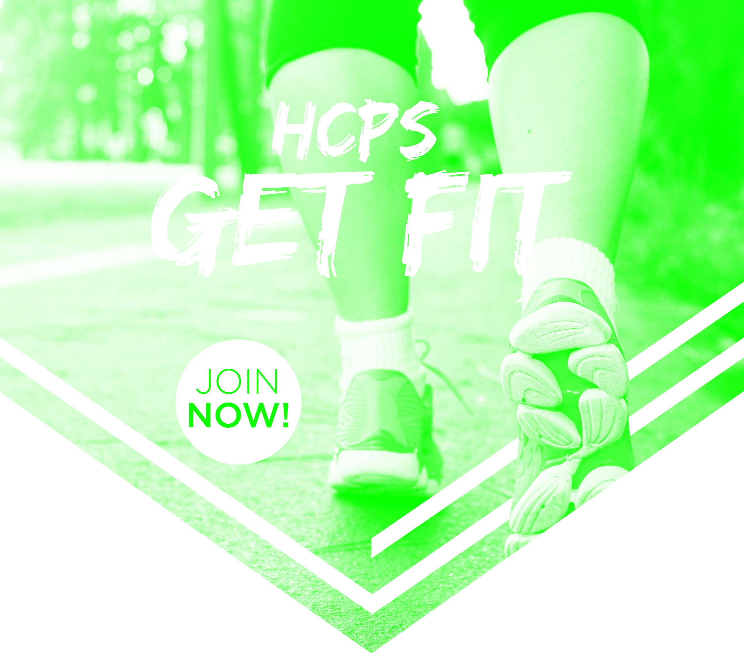 HCPS Get Fit web graphic